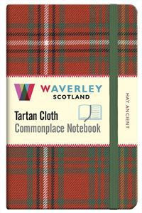 Tartan Cloth Notebook - Hay Ancient