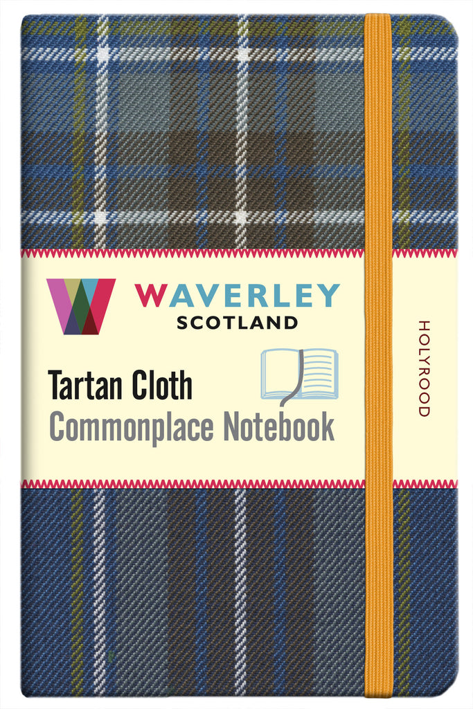 Tartan Cloth Notebook - Holyrood