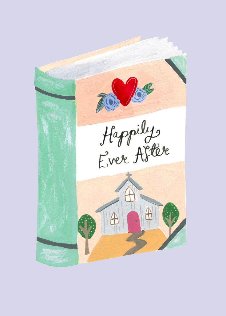 Happily Ever After Book Card