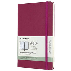 Moleskine 2019/20 Snappy Pink Academic Large Diary