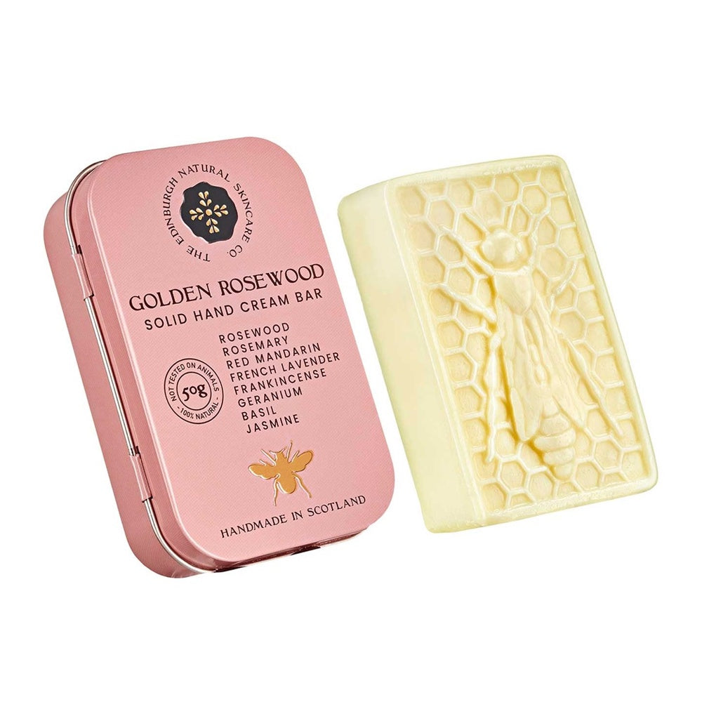 Golden Rosewood Solid Hand Cream Bar 50g
