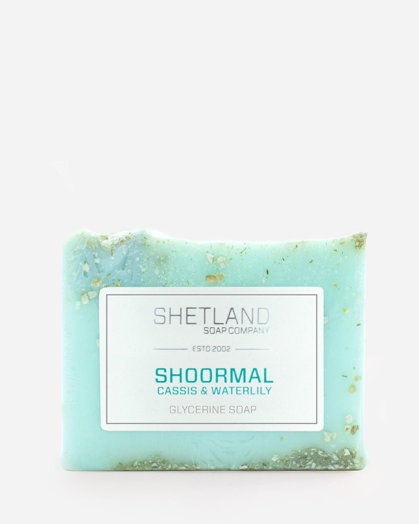 Shoormal Cassis and Waterlily Glycerine Soap Bar
