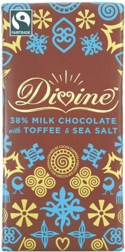 Divine Toffee & Sea Salt Milk Chocolate
