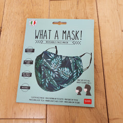 What A Mask! Reusable Face Mask - Jungle Design