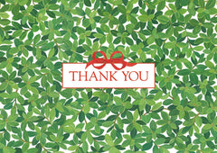 Boxwood Pack of 8 Thank You Cards