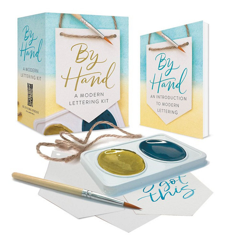 By Hand: A Modern Lettering Kit