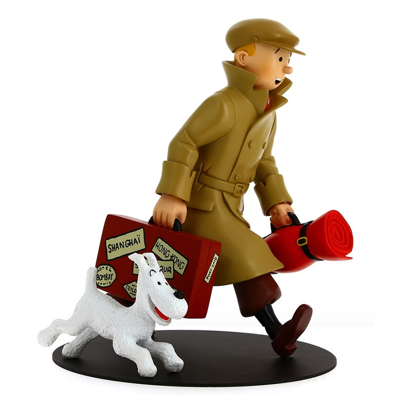 Tintin and Snowy Homecoming Resin Model