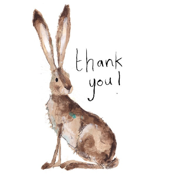 Hilary Thank You Card by Catherine Rayner