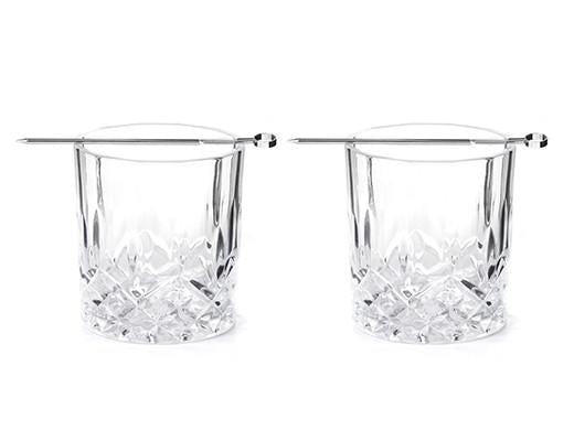 Whiskey Tumbler Set of Two Glasses