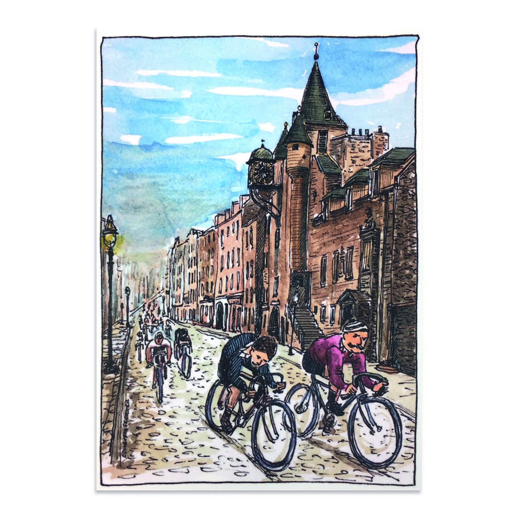 Victorian Cycles The Royal Mile Post Card