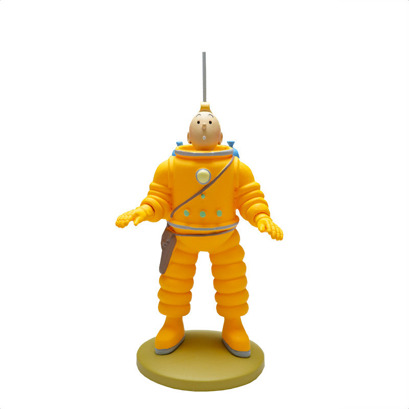 Tintin Moonsuit Figure
