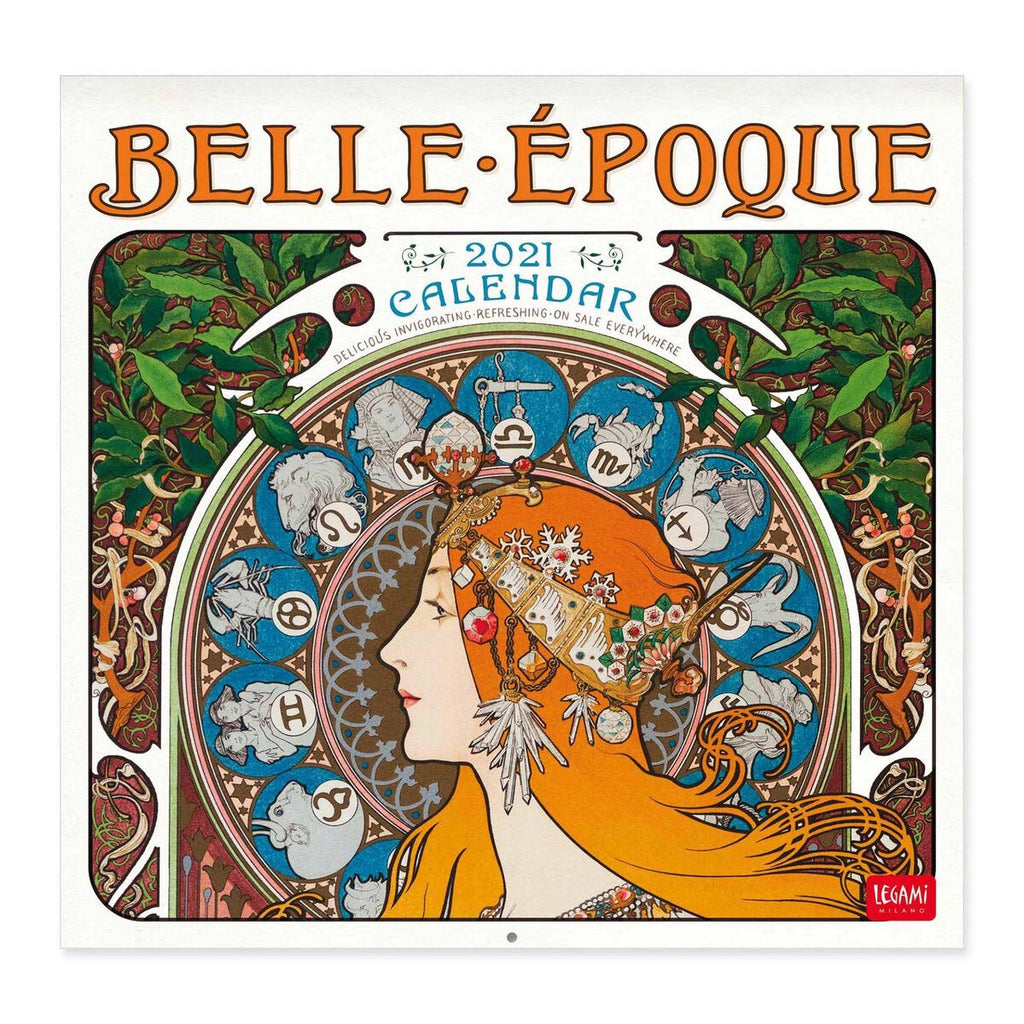 Belle Époque 2021 Small Calendar