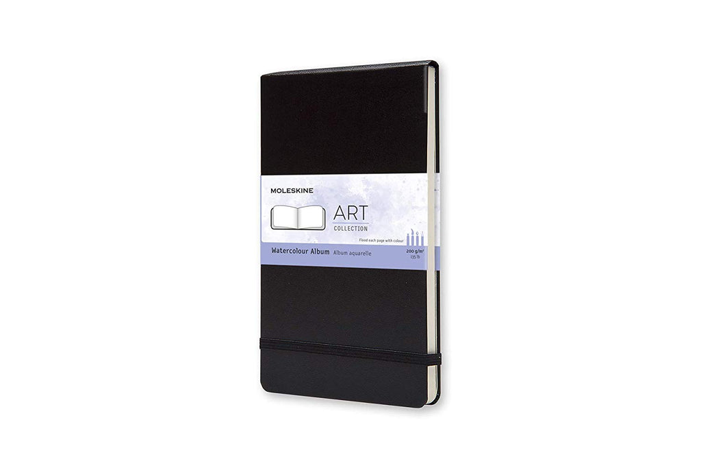 Moleskine Large Art Plus Watercolour Black Notebook