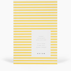 Vita Softcover Notebook Small Yellow by Notem