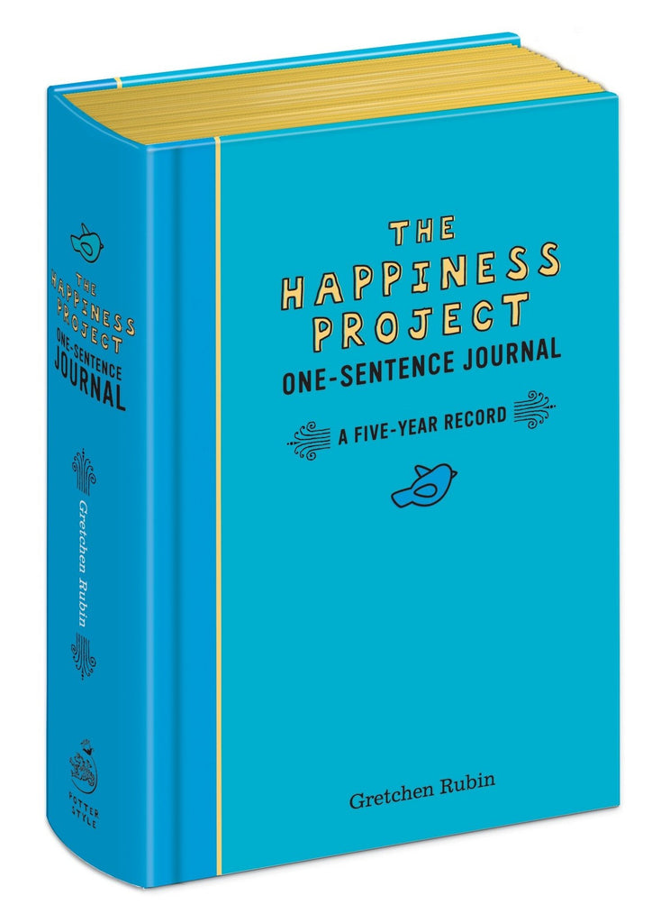 The Happiness Project-One Line Journal