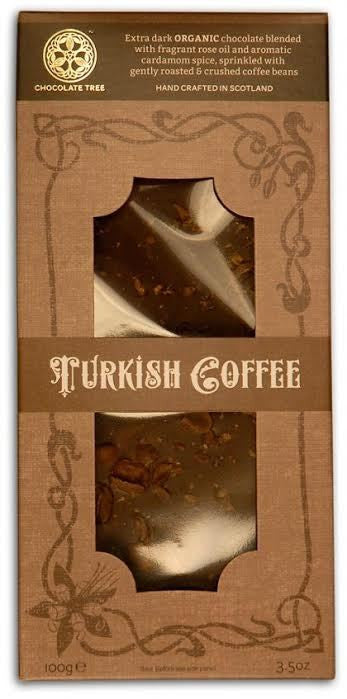 Organic Dark Chocolate Turkish Coffee 74%