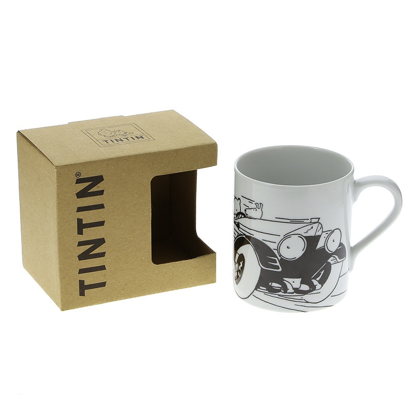 Tintin Mug Soviet Speed Car