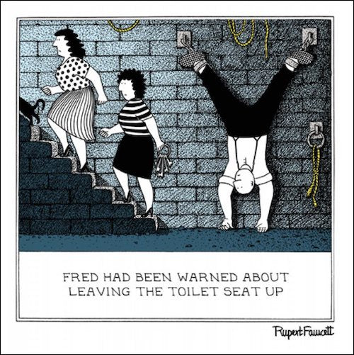 In Chains Rupert Fawcett Card