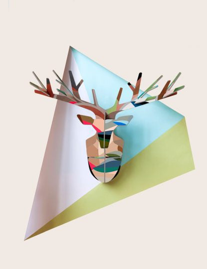 Totem Wall Decoration Enchanted Deer - Leaf