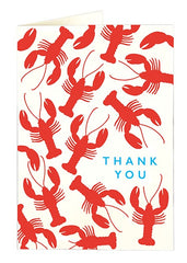 Lobster Thank You Card Pack