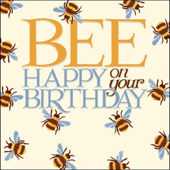 Bee Happy On Your Birthday Emma Bridgewater Card