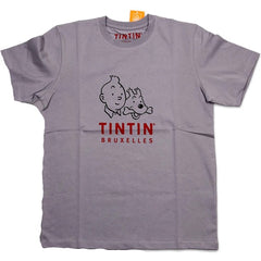 Tintin Headshot T-Shirt Cherry