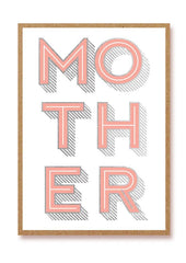 Mother Letterpress Card
