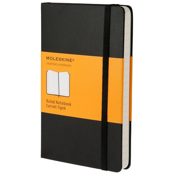 Moleskine Large Ruled Notebook Black