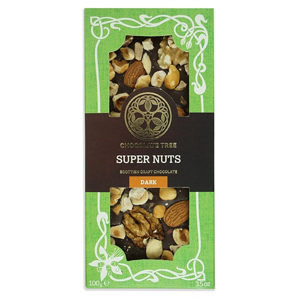 Organic Dark Chocolate Super Nuts