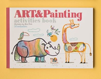 Art and Painting Activities Book