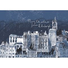 Merry Christmas from Edinburgh Card