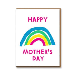 Happy Mother'€™s Day Rainbow Card