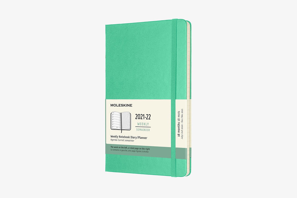 2021-22 Weekly Planner Large Hardcover Mint