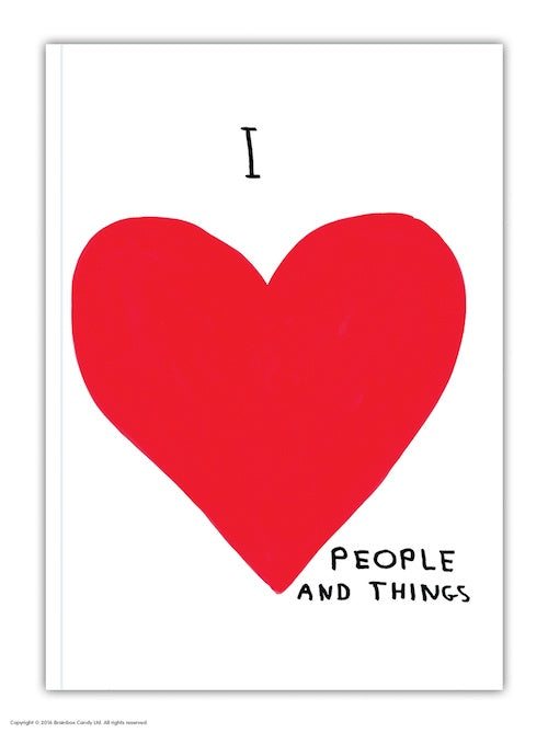 I Love People & Things Notebook
