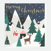Scandinavian Scene Pack Of 8 Charity Christmas Cards