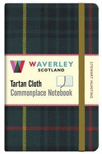 Tartan Cloth Notebook - Stewart Hunting