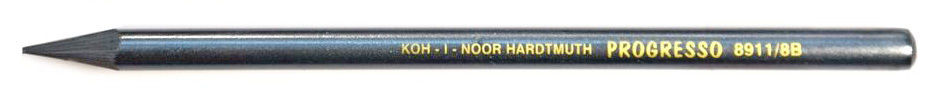8B Koh-I-Noor Woodless Graphite Pencil