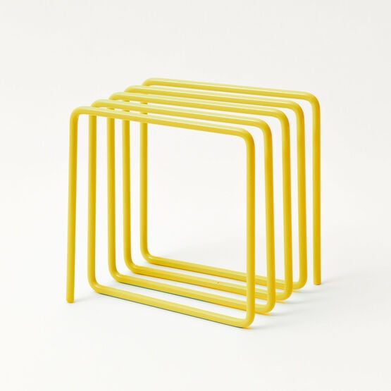 Magazine Rack Yellow