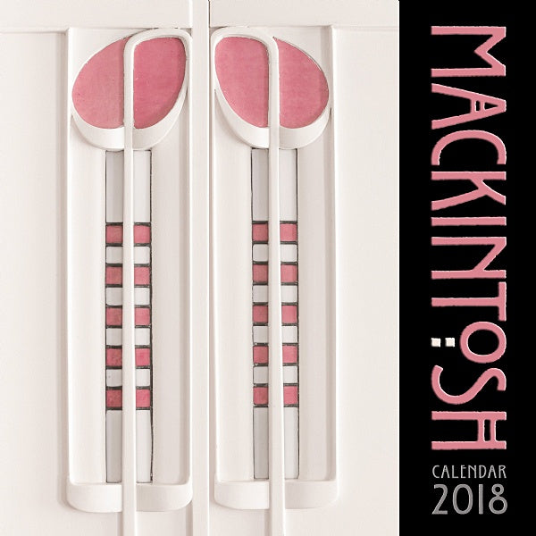 Charles Rennie Mackintosh Wall Calendar 2018