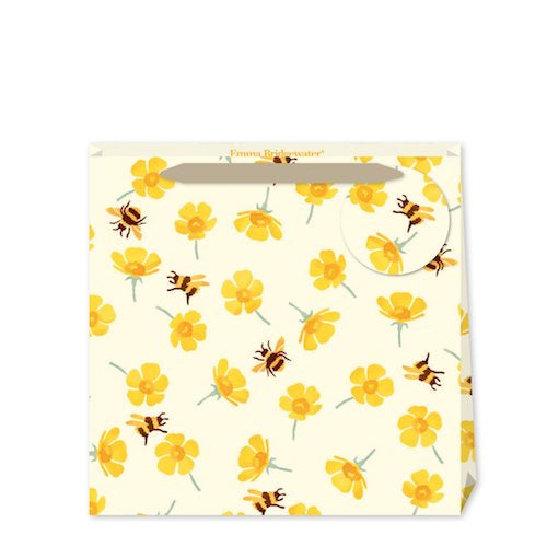 Emma Bridgewater Buttercups and Bees Medium Gift Bag