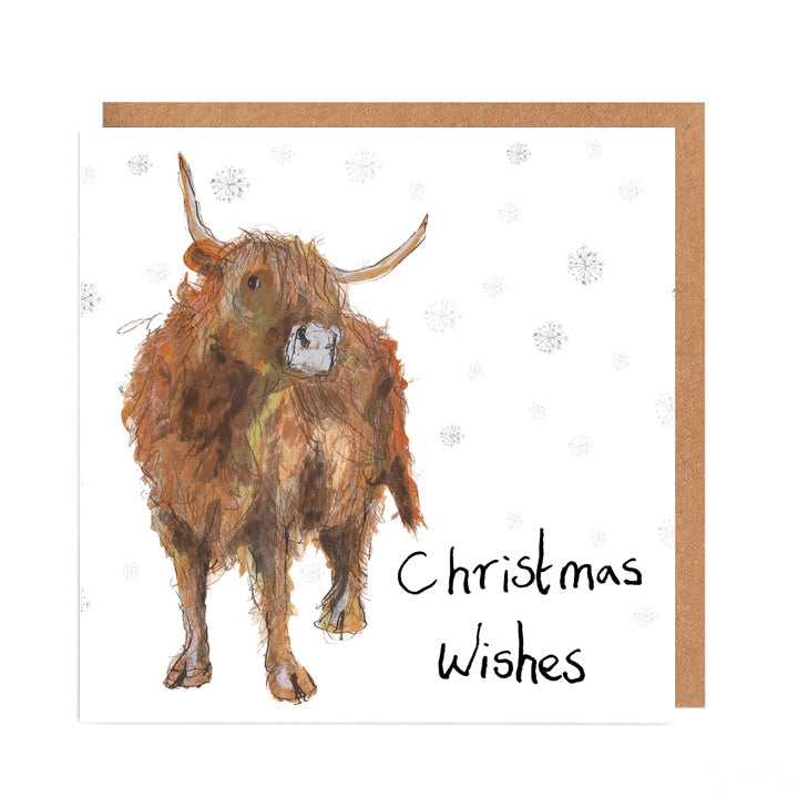 Adrian Christmas Wishes Card by Catherine Rayner