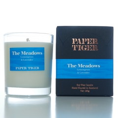 Paper Tiger The Meadows Lemongrass and Lavender Medium Candle