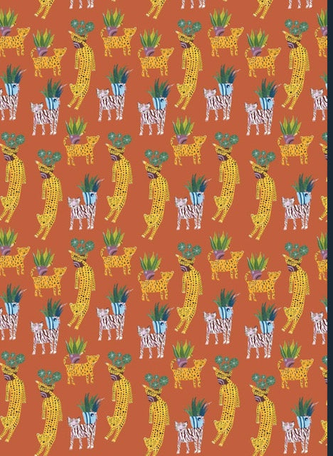 Botanical Tigers Sheet Wrap