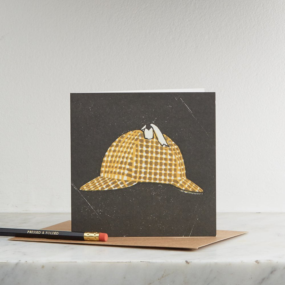 Deerstalker Hat Card