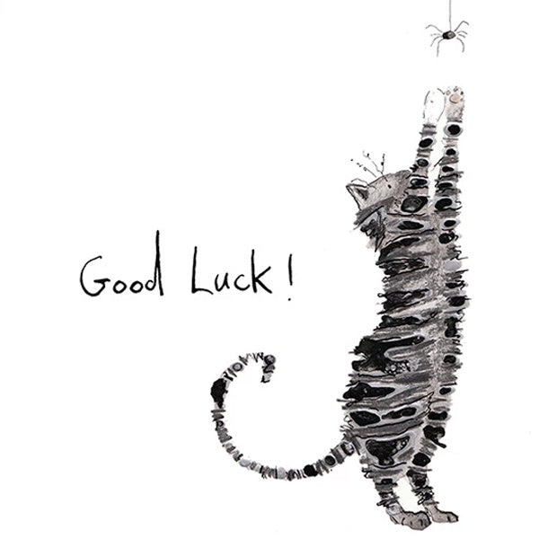 Gobbolino Good Luck Card by Catherine Rayner