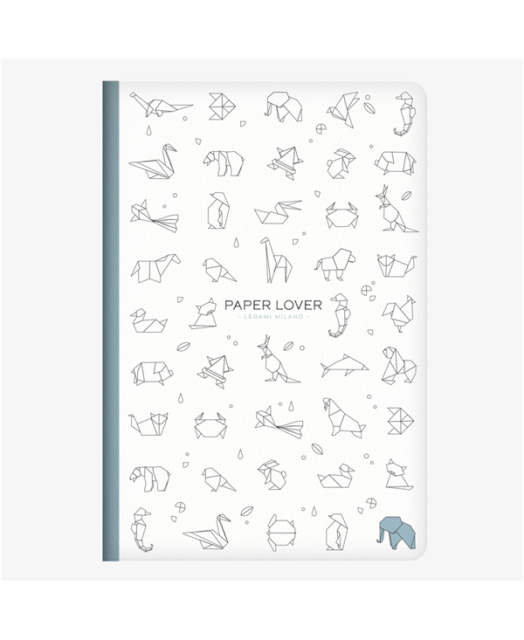 Paper Lover Origami Medium Lined Notebook