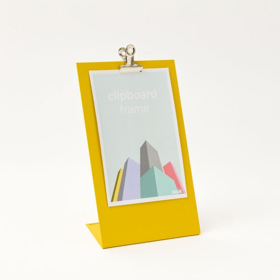 Clipboard Frame Medium Yellow