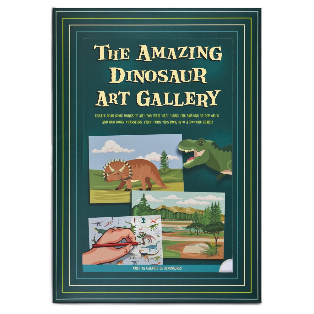 Create Your Own Amazing Dinosaur Art Gallery