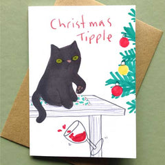 Christmas Tipple Card