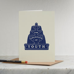 The Fountain of Youth Card